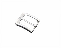 High quality men's silver metal rectangle pin belt buckles for belts