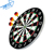 Cheap high quality 18-inch paper Dartboard, Double-Sided Flocking Dart Board