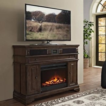Turnkey Llc San Andorra 48inch Tv Stand With Electric Fireplace Buy