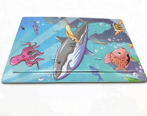 Customized Puzzle Jigsaw Cartoon Character Paper Jigsaw Puzzle Game Toy For Kids