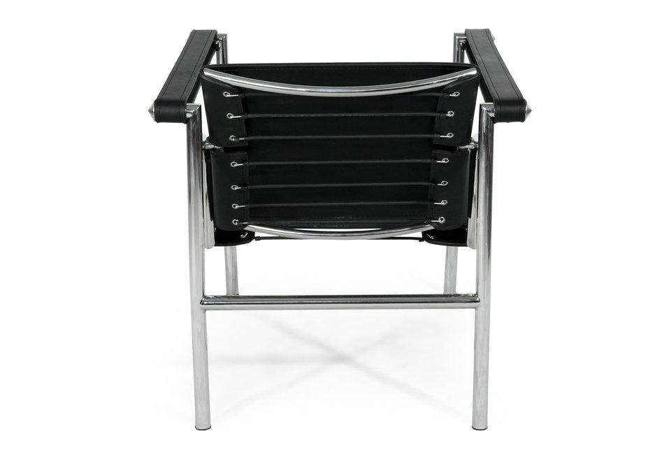 Rplique Le Corbusier LC1 Basculant Sling Chaise Longue En Cuir