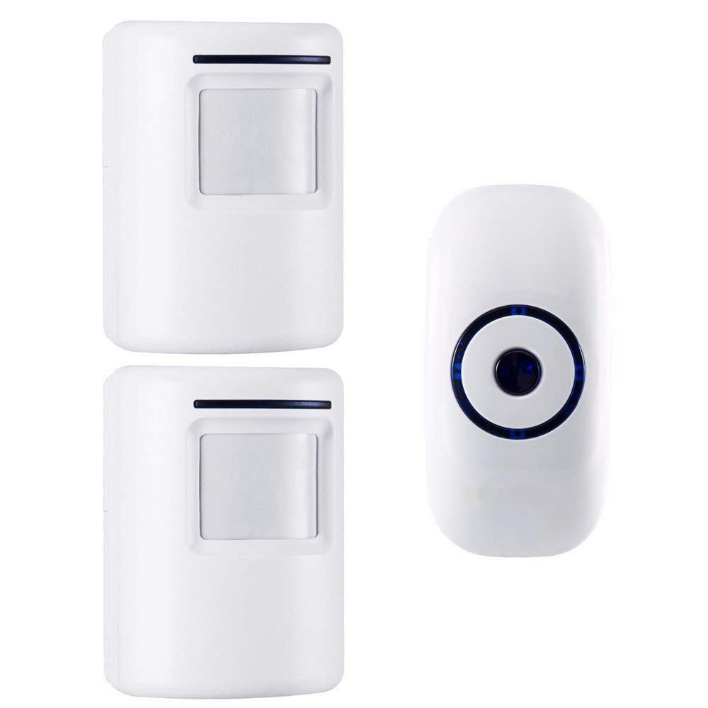 Get Quotations Home Security Motion Sensor Alarm Outdoor Wireless Driveway Alert Infrared Chime Doorbell