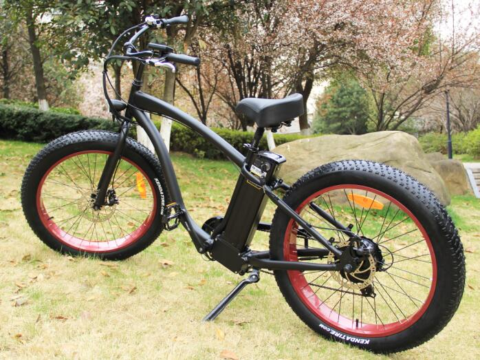 Powerful E bike 48v 500w green power fat tyre electric hummer bicycle