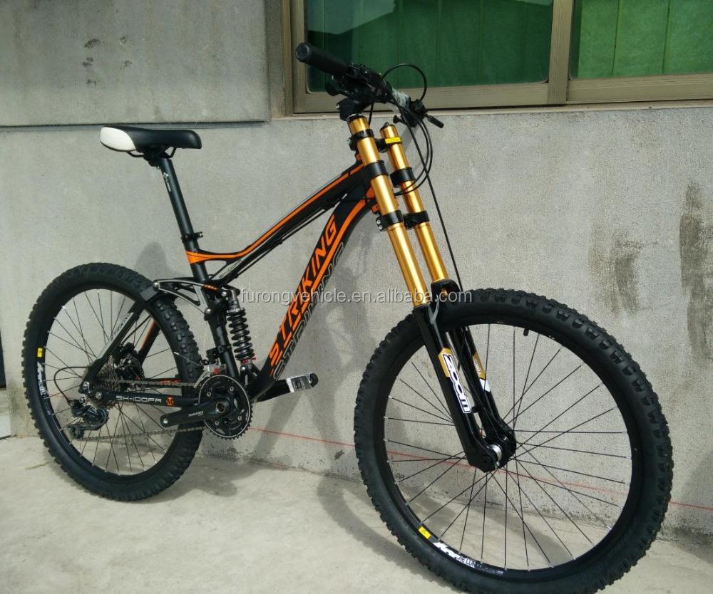 Mountain Bike Frame Full Suspension Downhill Mountain Bike 26*2.35 ...