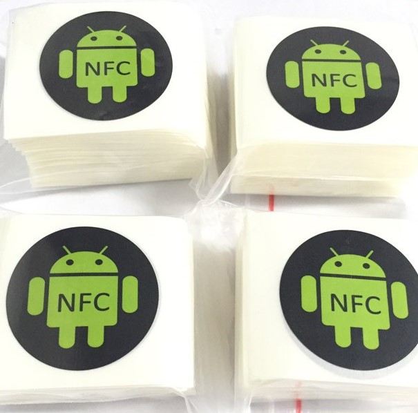 NFC tag or label for smartphone