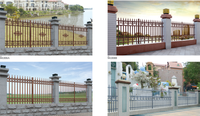 Aluminum Rong Good Villa Swing Gate,Automatic System Gate - Buy ...