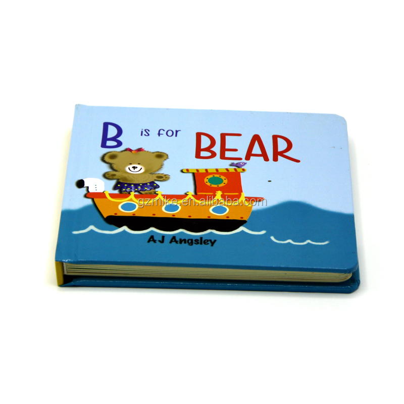 Cheap colorful professional board book English story children book printing in china