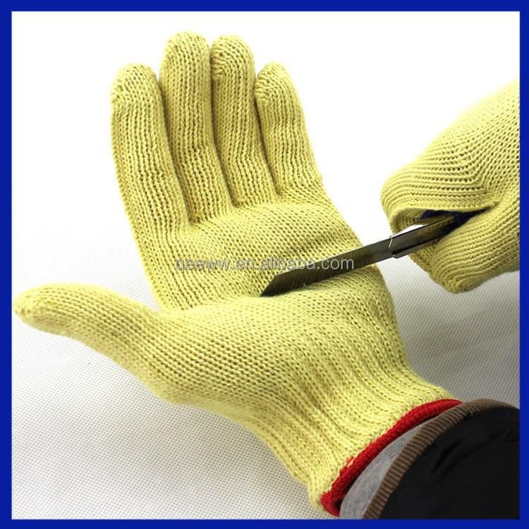 2015 China Manufacturer Working Glove/cut & Heat Resistant Gloves ...