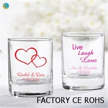 Letters Elegance Combination of Memorable Wedding Favors printing candle holder