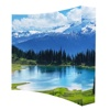 Great Wholesale picture frame Tension fabric display/ pop up stand/trade show backdrop with express and short run time