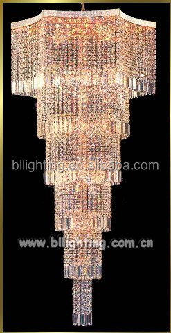 Chandelier crystal beads chain hanging luxury crystal chandelier
