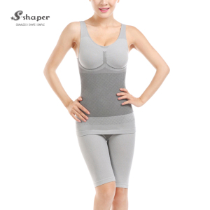 S-SHAPER Tourmaline Bamboo Underwear,Slimming Tourmaline Bamboo Body Shaper Suits