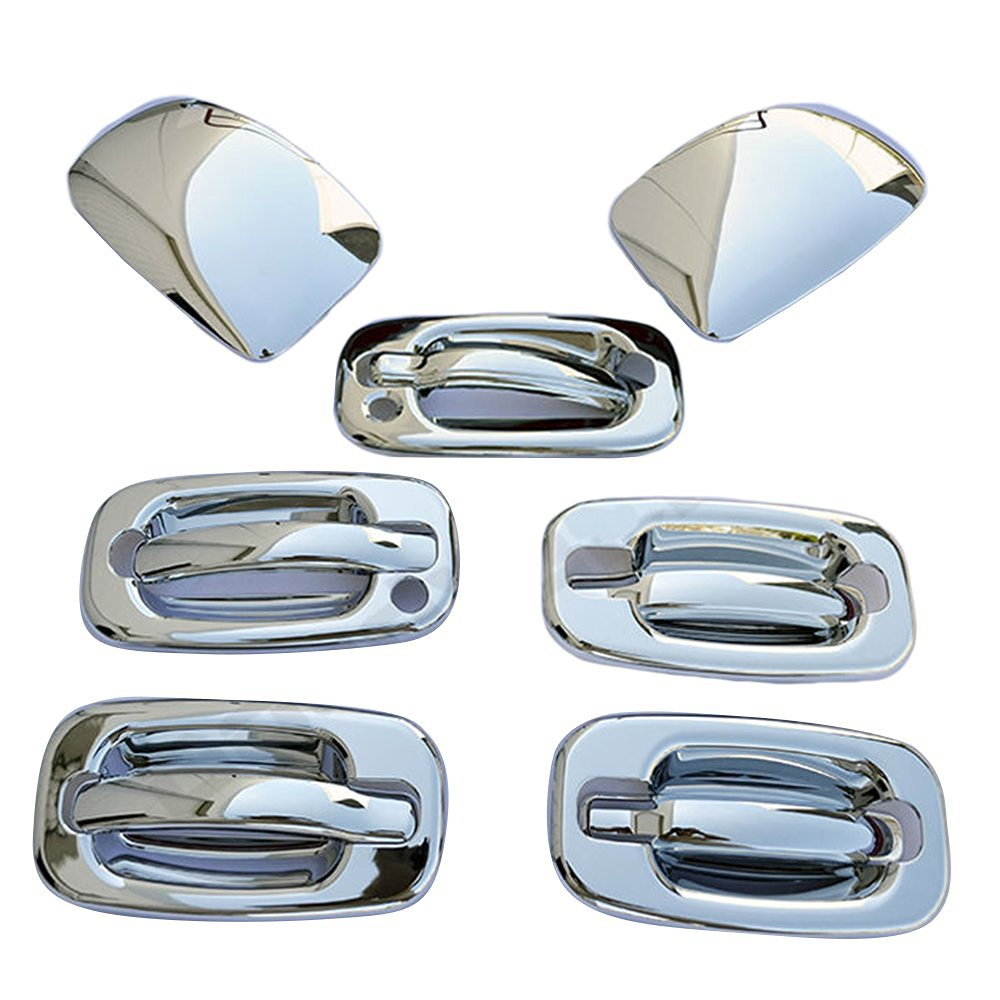 Chrome Mirror Cap Door handles covers psg kh for CHEVY Tahoe 00-06