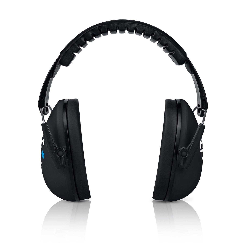 HearTek Kids Earmuffs Hearing Protection with Travel Bag- Junior Ear  Defenders For Children 9cc9faef3463