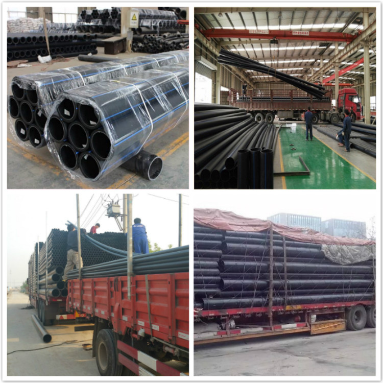 160 mm pn10 pe80 grade black hdpe pipe