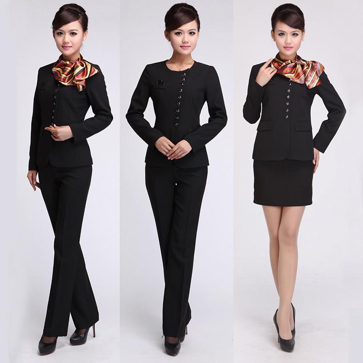Elegant cheap hotel reception uniform sqnc2015001j buy for Hotel design jersey