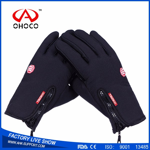 Anti Abrassion Winter Driving Gloves, Waterproof Touch Screen gloves