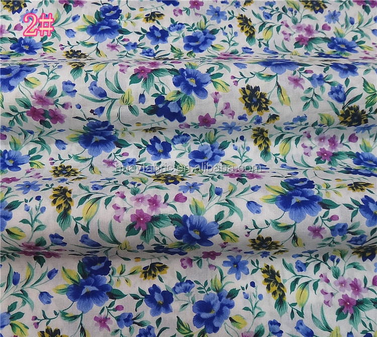 Vintage Cotton rose printed fabric for handmade patchwork fabric