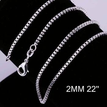 New Simple Design Factory Price 925 Silver Chain Mens Silver Chain Necklace  Cc009-22 - Buy Mens Silver Chain Necklace,Silver Link Chain,Gold Necklace