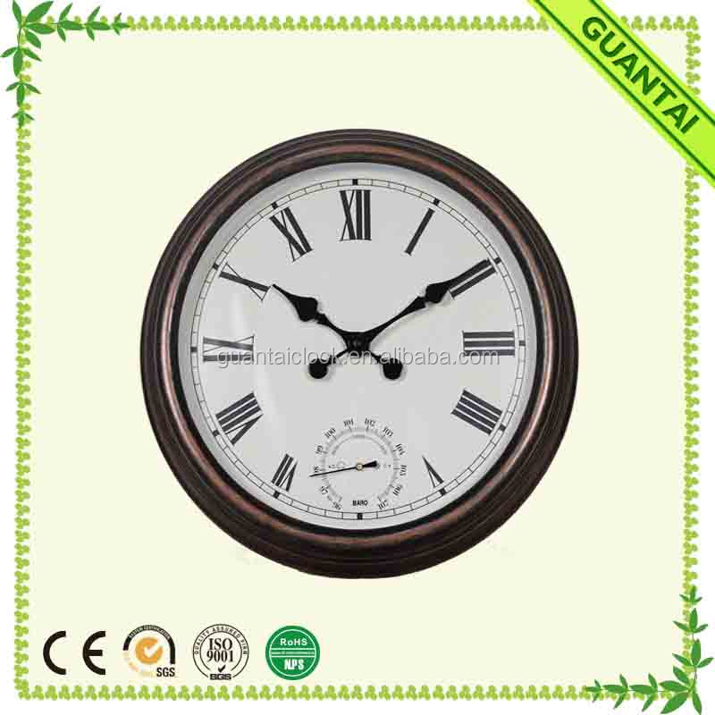 Profit Small Outdoor Barometer Clock Large for Outdoor and Indoor
