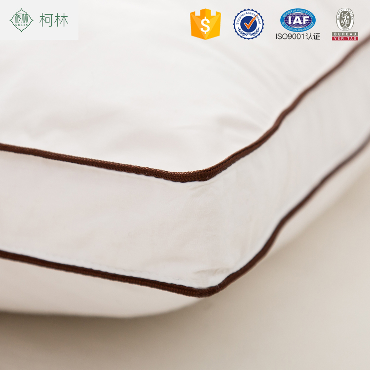 Hotsale alibaba china hotel best duck feather goose feather pillows