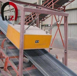 900mm 15000gs Suspended Magnetic Separator for Conveyor Belt Magnet