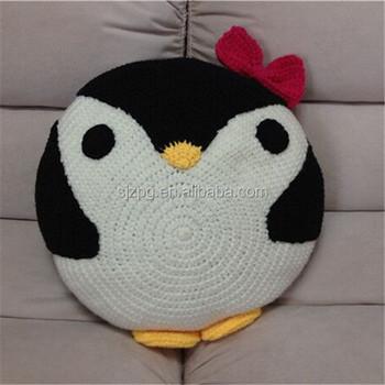 пингвин круглый детские подушки крючком Buy детские вязаные