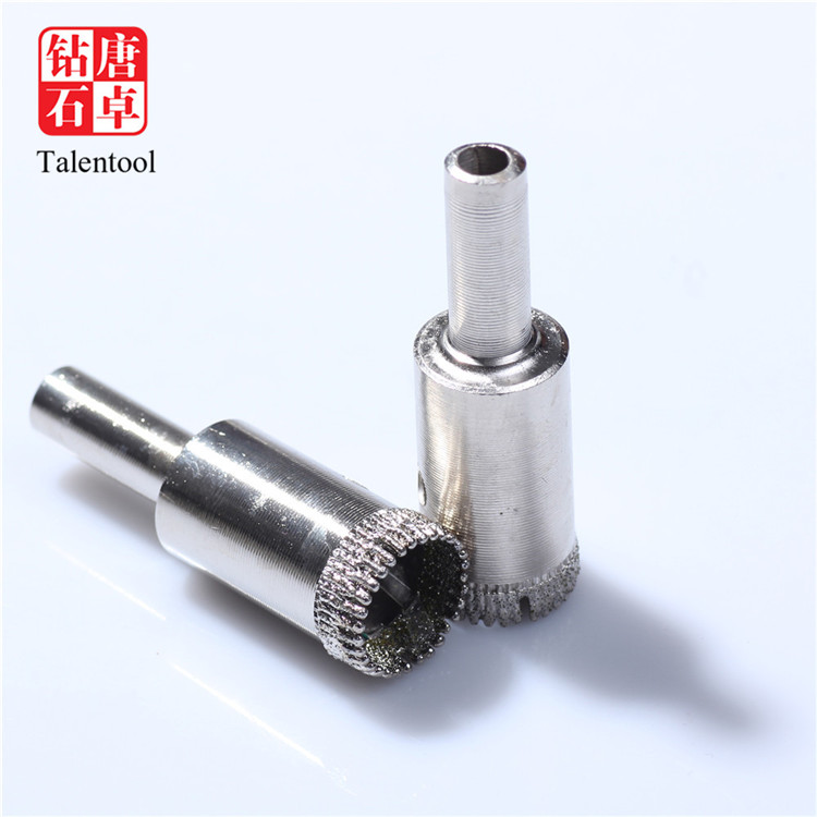 3//16 Inch Diameter Brazed Diamond Drill Bit