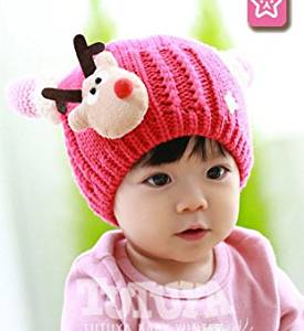 c62ded5bc13 Get Quotations · KiKi Monkey Baby Winter Hat Baby Knitted Hat Photo Prop  Outfits Christmas Hat Festival Hats (