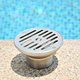 China manufacturer swimming pool stainless steel floor water return/stainless steel water inlet