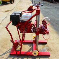 20mm-350mm Diameter Gasoline Horizontal Directional Limestone Core Drilling Machine