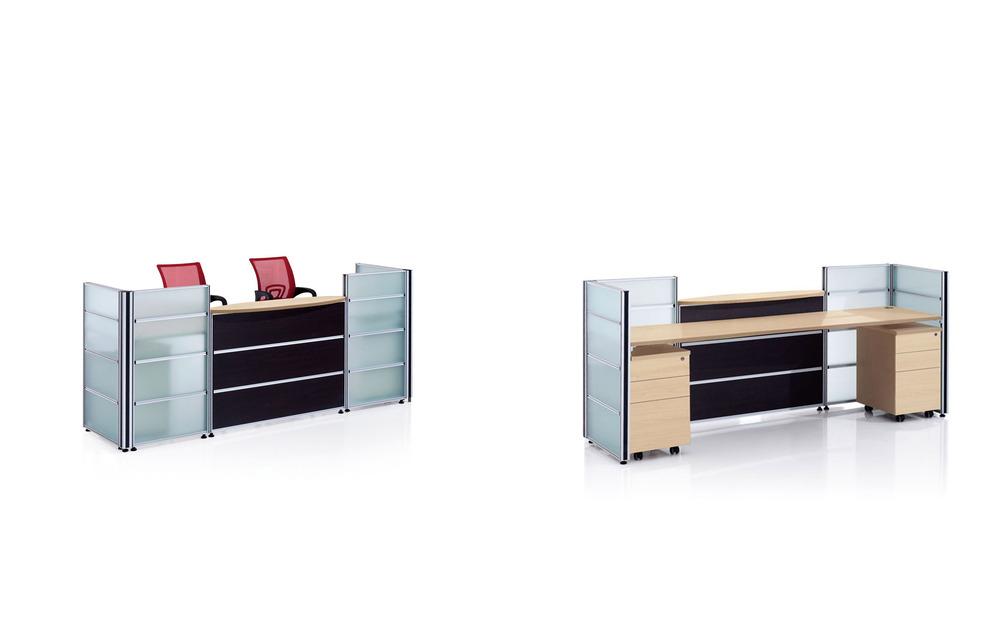 Cf Glas Rezeption Möbel Moderne Hotel Empfangstresen Design Für 2 ...