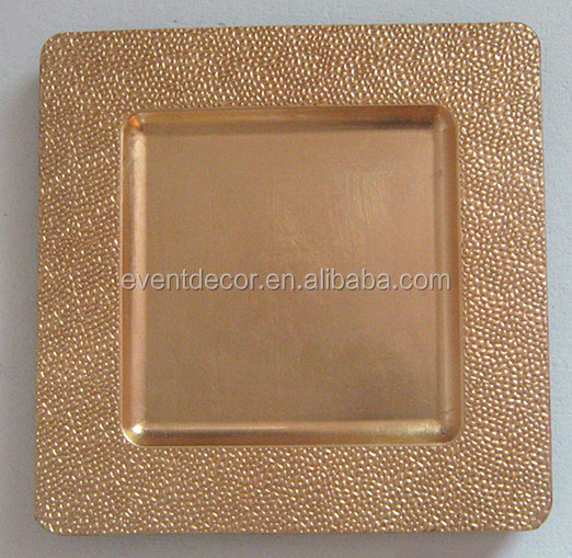 Square Wedding Charger Plate Wholesale  sc 1 st  Shenzhen Ouge Trade Limited Company - Alibaba & Square Wedding Charger Plate Wholesale View square charger plates ...