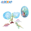OEM promotional items plastic egg dinosaur growing toy for kids