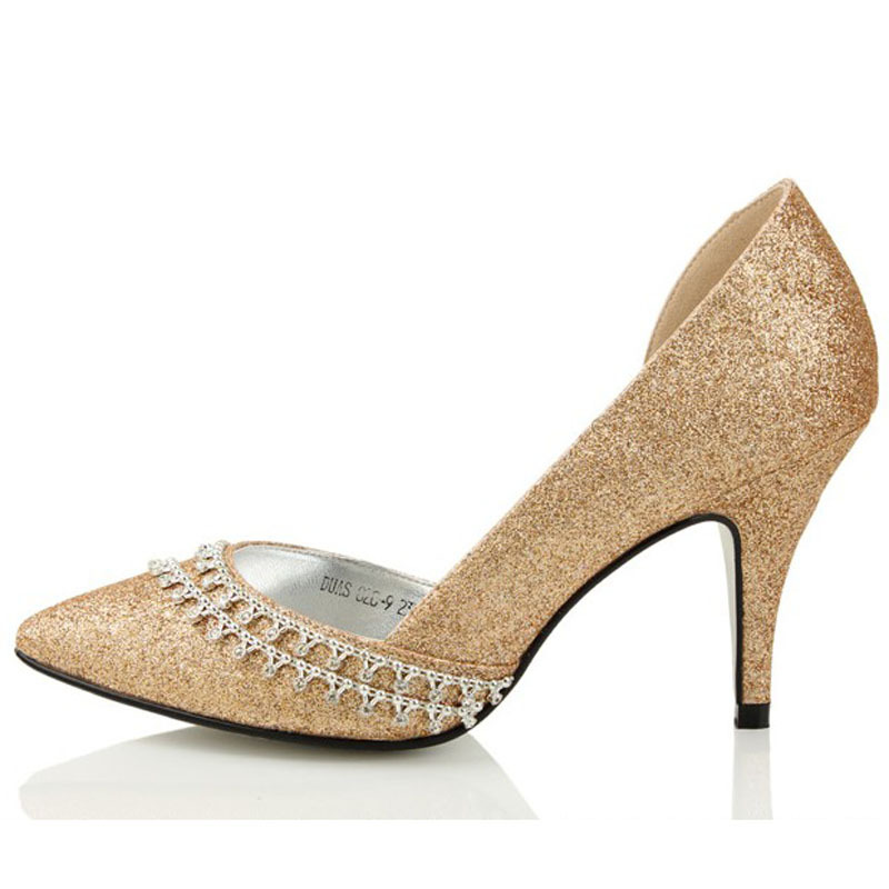 Champagne Colored Wedding Dress Shoes