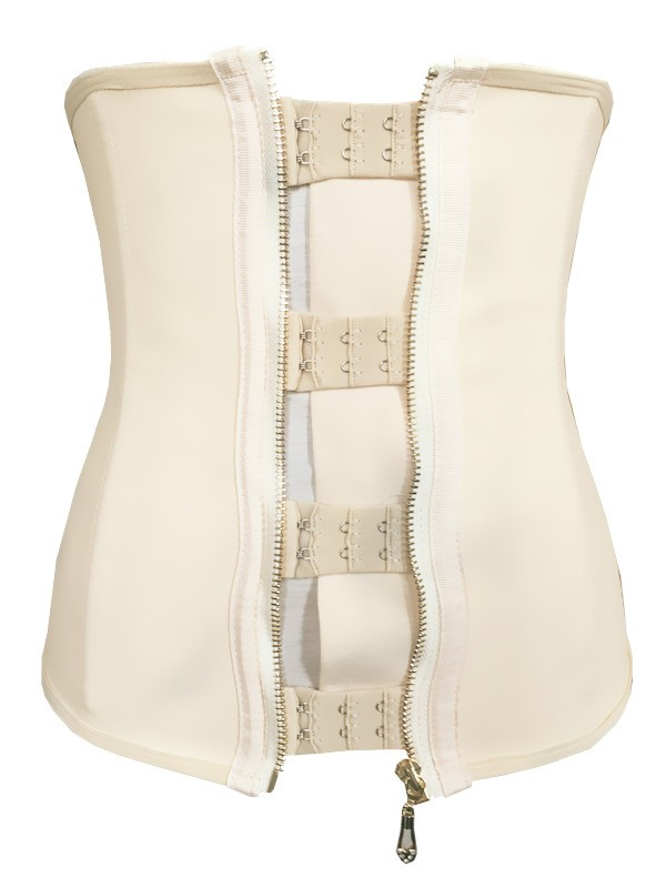 zipper latex waist training cincher corset wholesale women latex rubber waist training cincher