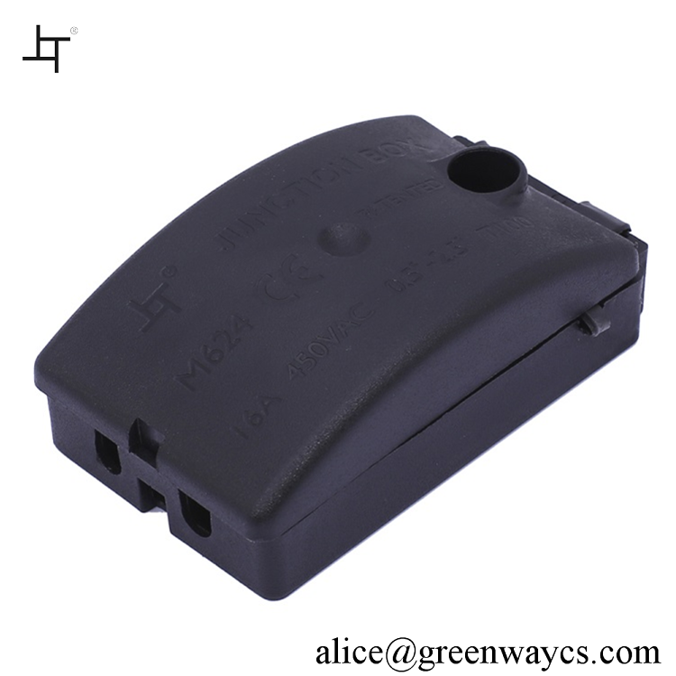 Greenway quick wire connector in 4 way cable junction box