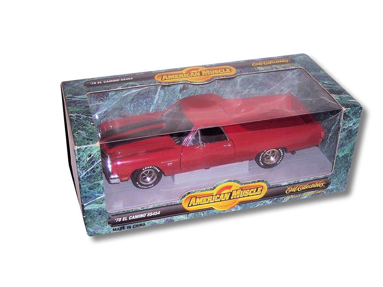 Ertl American Muscle Red '70 El Camino SS454 1:18 Scale Die Cast Model