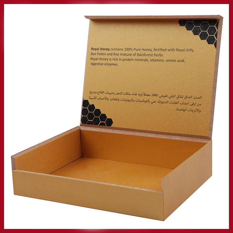 Cheap Design Malaysia Wooden Mdf Royal Honey Packaging Box
