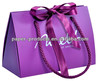2014 Hot Sale ! Exquisite High End Purple Carrier Paper Bag On Alibaba