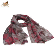Wholesale price Womens Digital Print Female Soft Foulard Designer Wrap muslim scarf women hijab