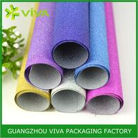 Luxury UV Coating Printing velvet gift wrapping paper