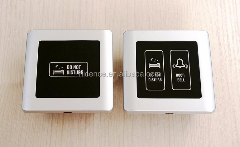 Multi-functional Hotel LCD Touch Doorbell with DND MUR Wait