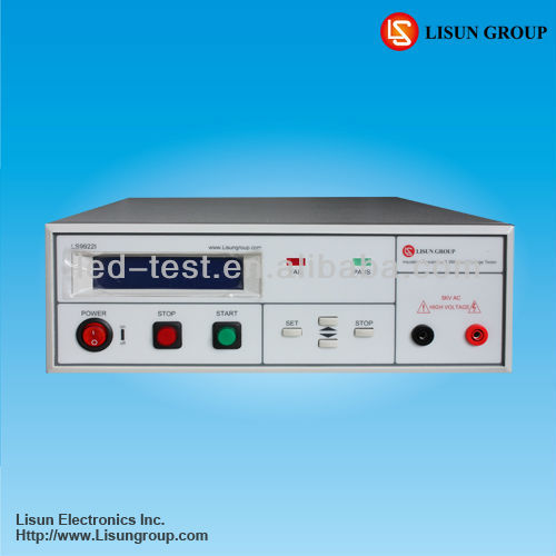 Lisun LS9922I Programmable Earth Tester Resistence Measurement with a variety of automatic test functions