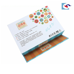 Custom Promo recyclable promotional paper cardboard pen gift box