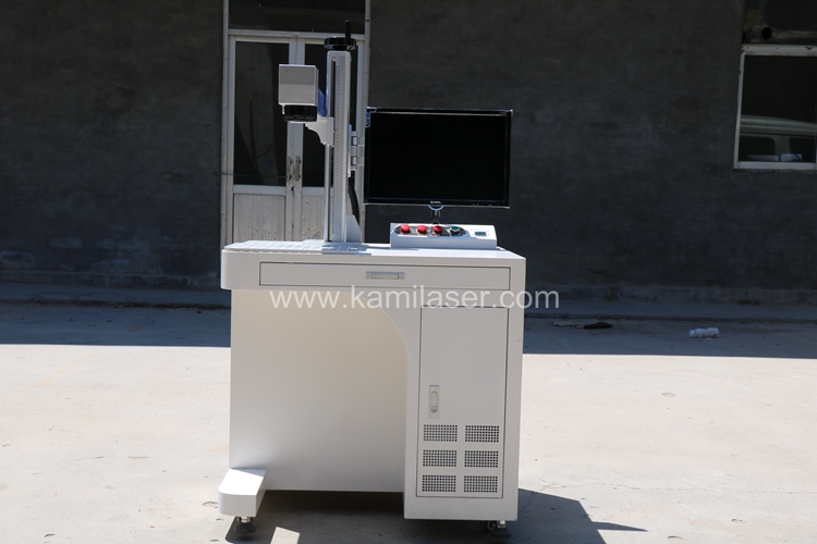 Best price high quality economic laser printing machine for jewelry anminal ear tags,plastic ,auto parts