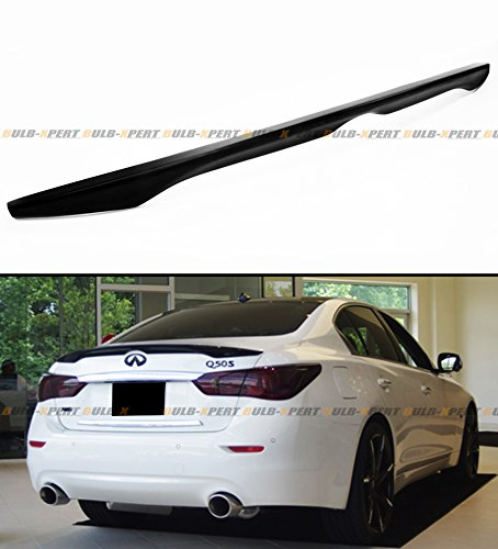 FOR 2014-2016 INFINITI Q50 Q50S OE FACTORY STYLE TRUNK BOOT LID SPOILER WING-PRIMER FINISH