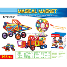 168pcs magical magnetic block create more models