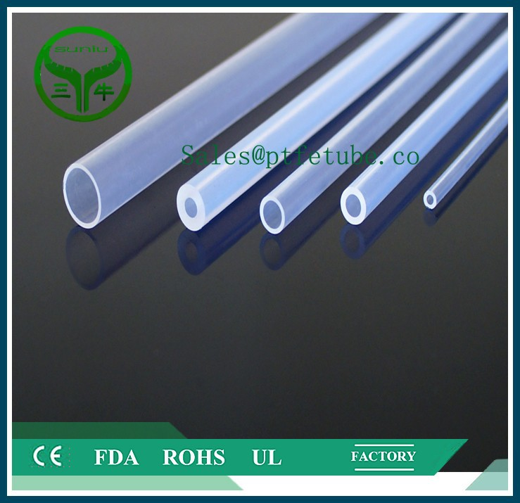 fireproof high-low temperature resistance ptfe & pfa tube