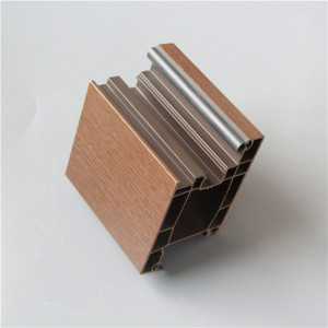 Good Quality Lamination UPVC Windows Profiles Plastic Building Materials